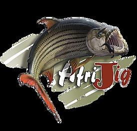 Logo header Afri Jigs Original Tigerfish