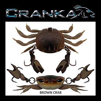 brown crab Afri Jigs Original Tigerfishi