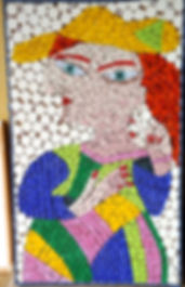 mosaic picture picasso copy