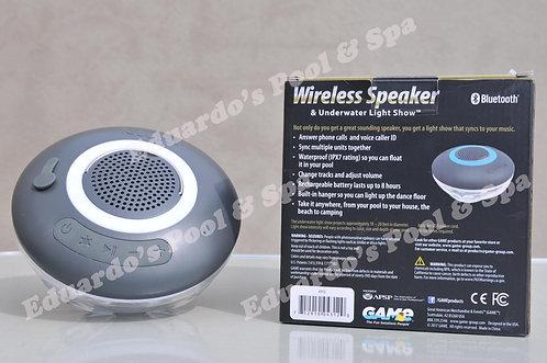 Wireless speaker & underwater light show