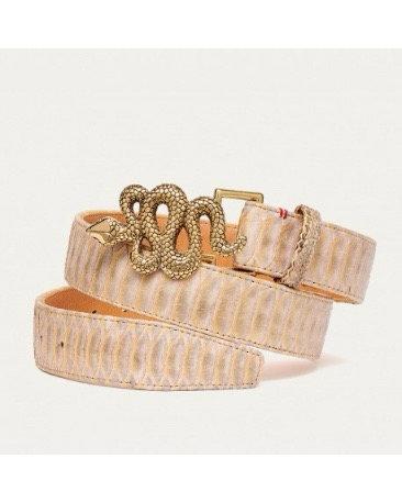 Ceinture snake gold