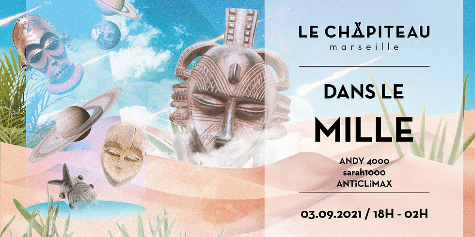Dans le mille - w/ Andy 4000, sarah1000 b2b The Log Lady, ANTiCLiMAX