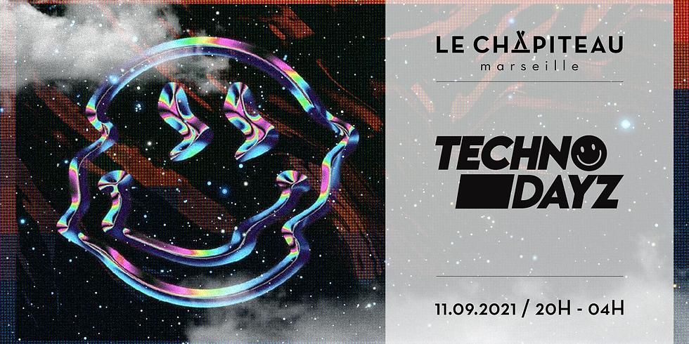 Techno Dayz - w/ Fontene, Cedric Driks & Romain Pellegrin