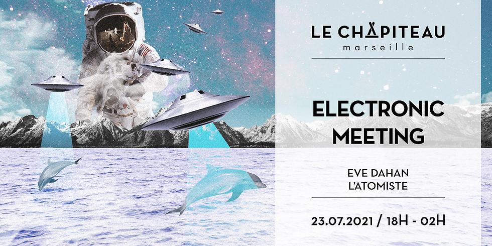 Electronic Meetings - Eve Dahan & L'Atomiste invitent Lö Pagani