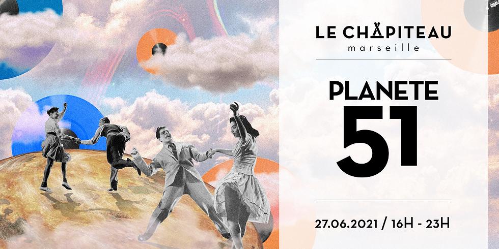 Planète 51 x Le Chapiteau
