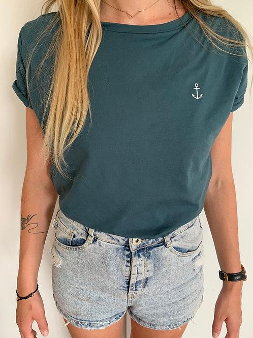 T-Shirt • Pétrole •