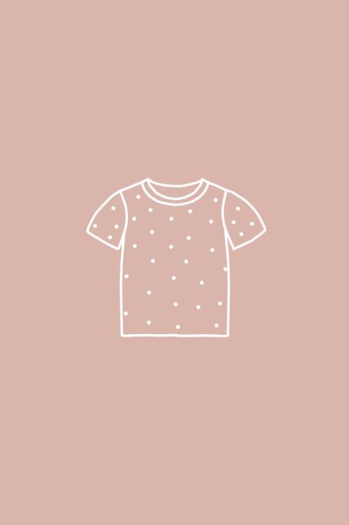 T-Shirt BASIC imprimé