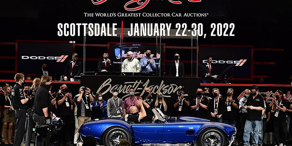Barrett Jackson 2022 Scottsdale