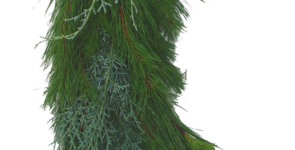 Pine & Carolina Sapphire Mix Garland