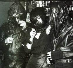 Steve Strange (left)