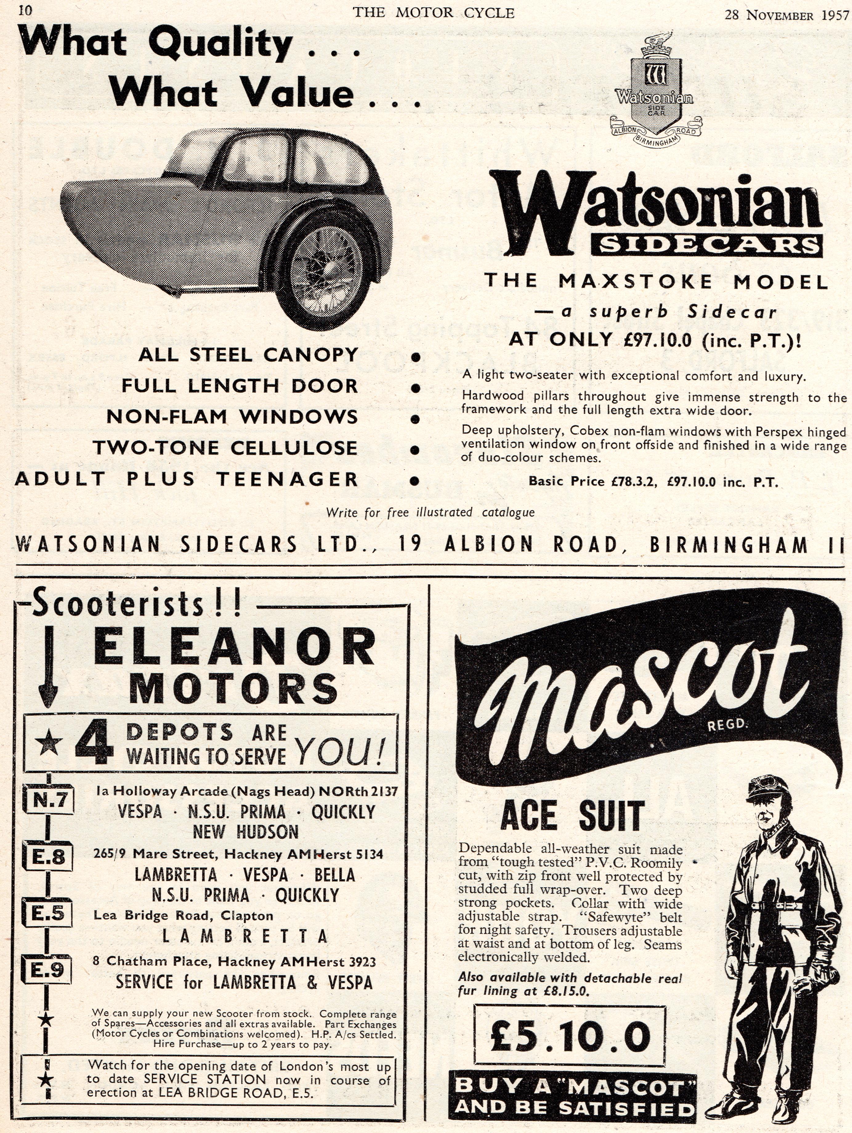 Ace suit 1957