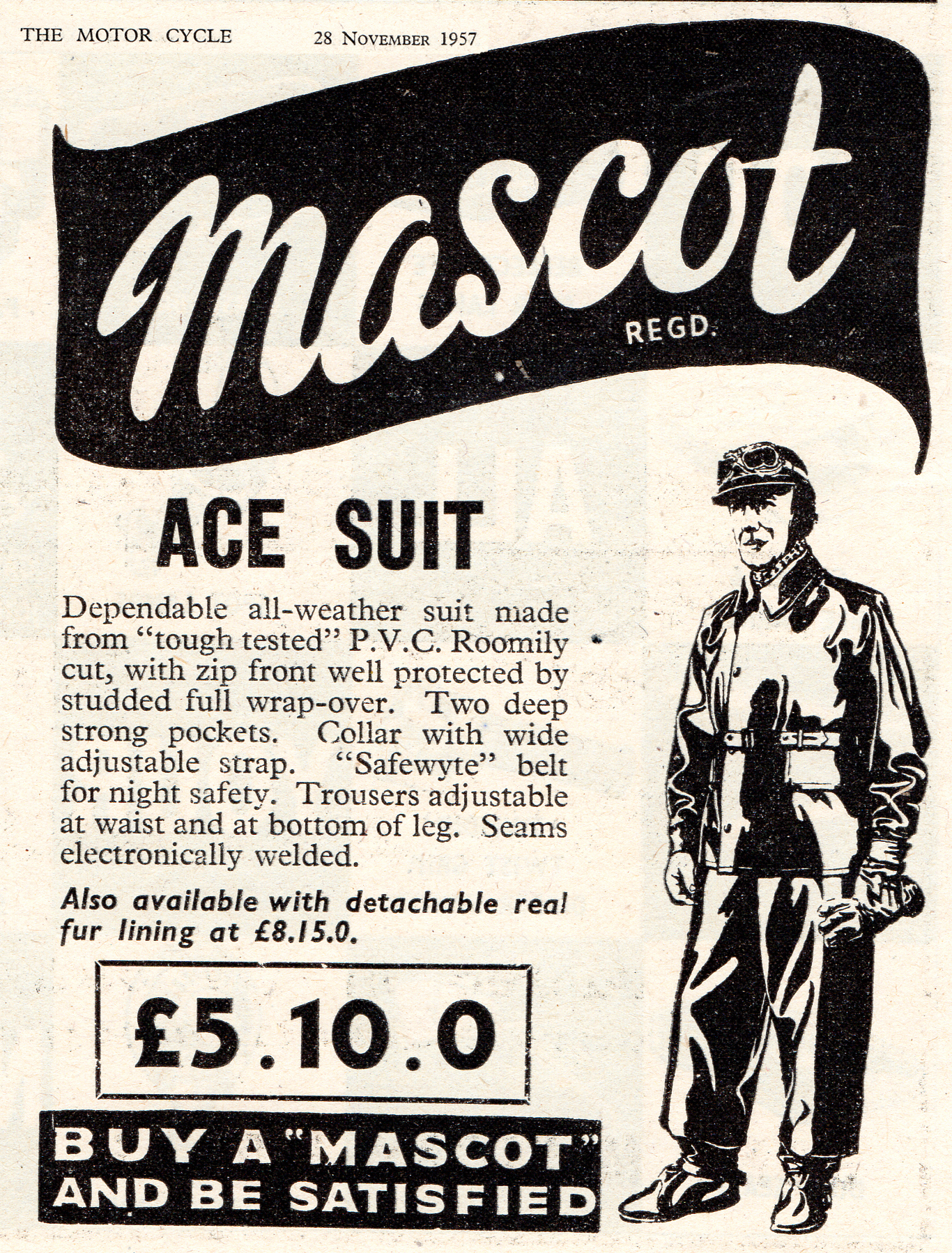 The Ace suit 1957