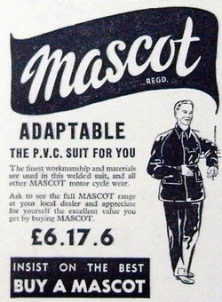 Scooter Clothing 1957