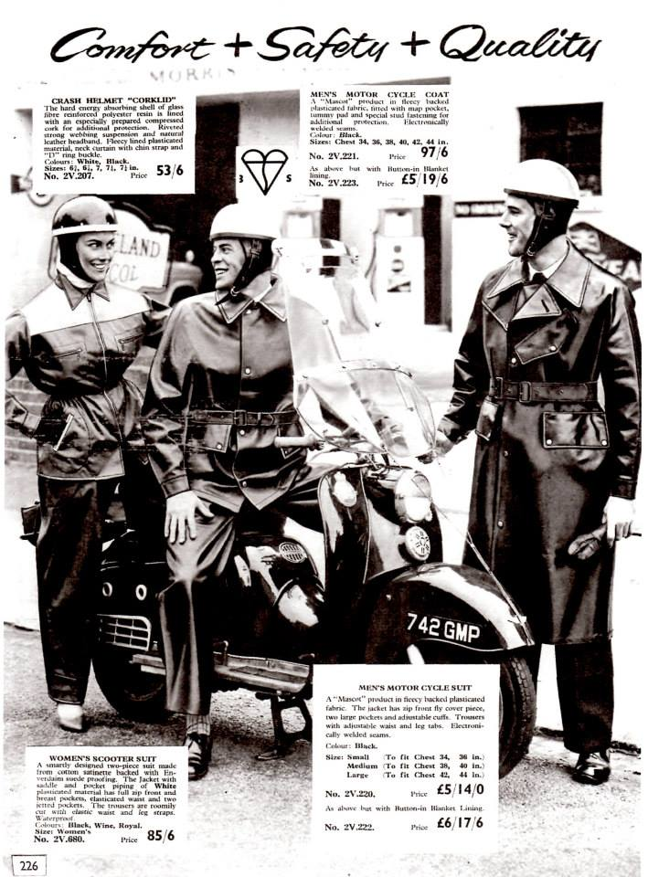 1957 - Scooter Clothing