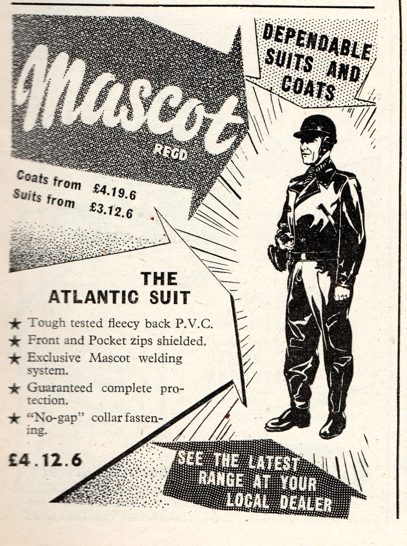 Atlantic suit 1958