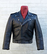 Mascot classic motorcycle leather jacket