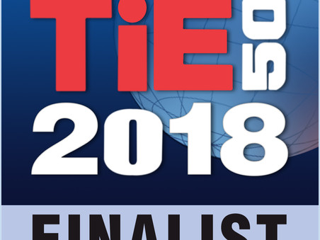 CONCENTER BIOPHARMA  as a 2018 TiE50 Finalist.