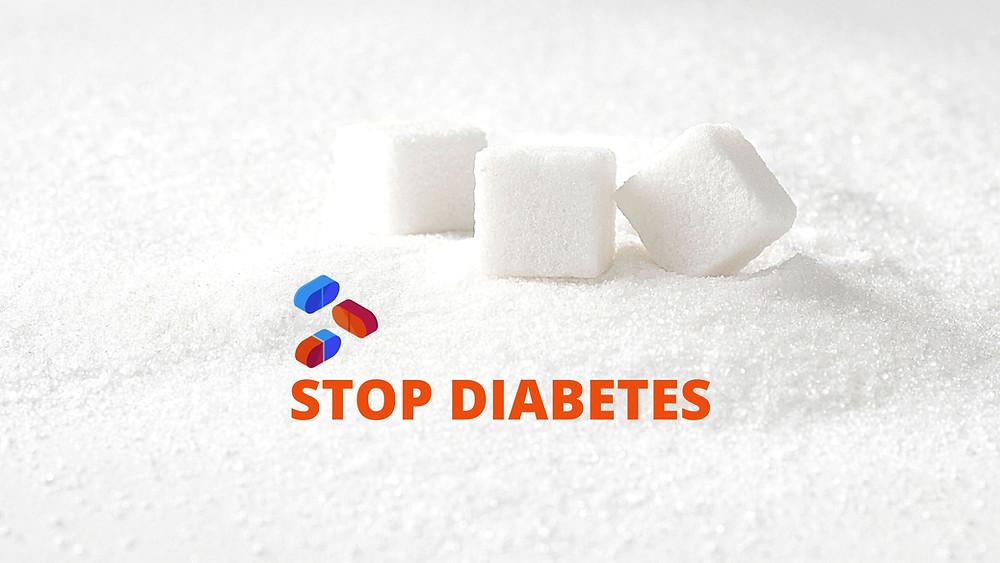 Stop Diabetes, Pills and Sugar Cubes