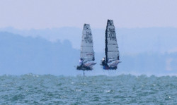 Fast sailing on Thames Esturary (2 of 1)