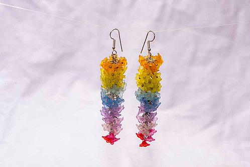 Spring Rainbow Earrings