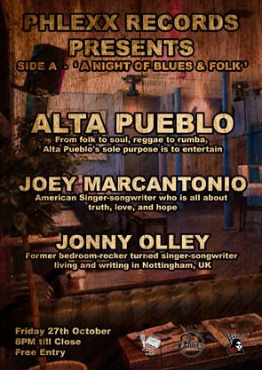 Side A - Jonny Olley / Joey Marcantonio / Alta Pueblo