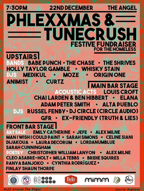 PHLEXXMAS / TUNE CRUSH FESTIVE CHARITY FUNDRAISER - 22ND DECEMBER (ANGEL BREWERY)