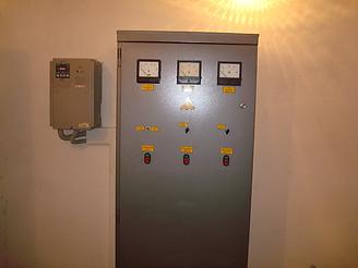 Частотный преобразователь на насосной станции второго подьёма