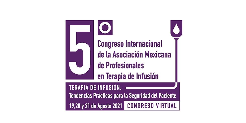 5TO CONGRESO INTERNACIONAL DE TERAPIA DE INFUSIÓN