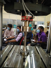 High Cycle Fatigue Testing System (Supported by the IGSTC grant)