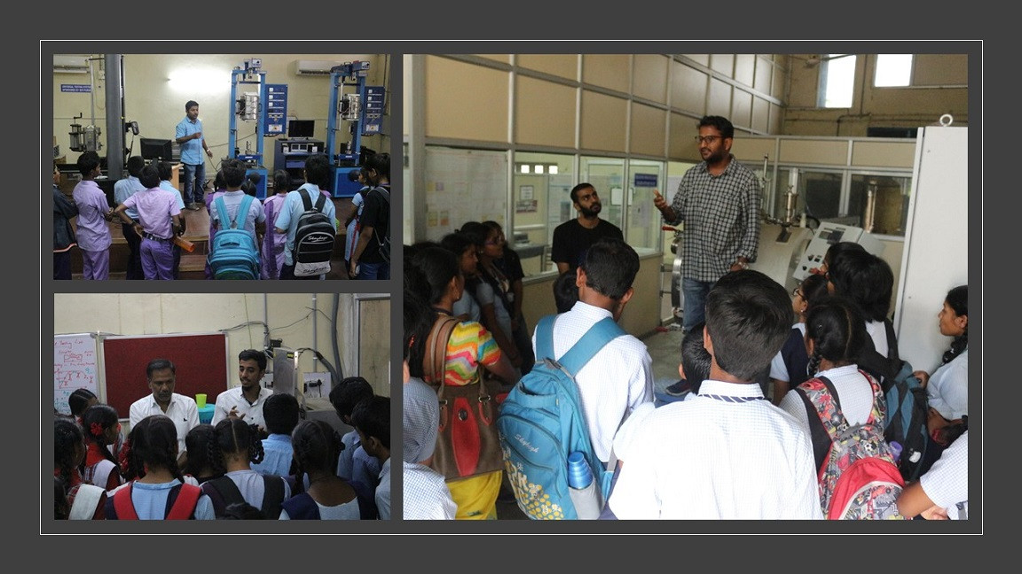 Outreach Program: Visit of High School Students to Our Laboratory in 2020