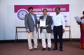 Fellow of Telangana Academy of Sciences (2018), @ IICT, Hyderabad