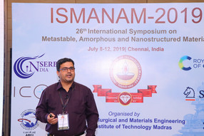 ISMANAM-2019 @ Chennai
