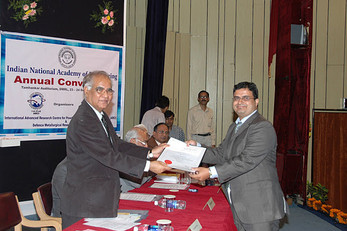 Young Engineer Award (2011) of the Indian National Academy of Engineering