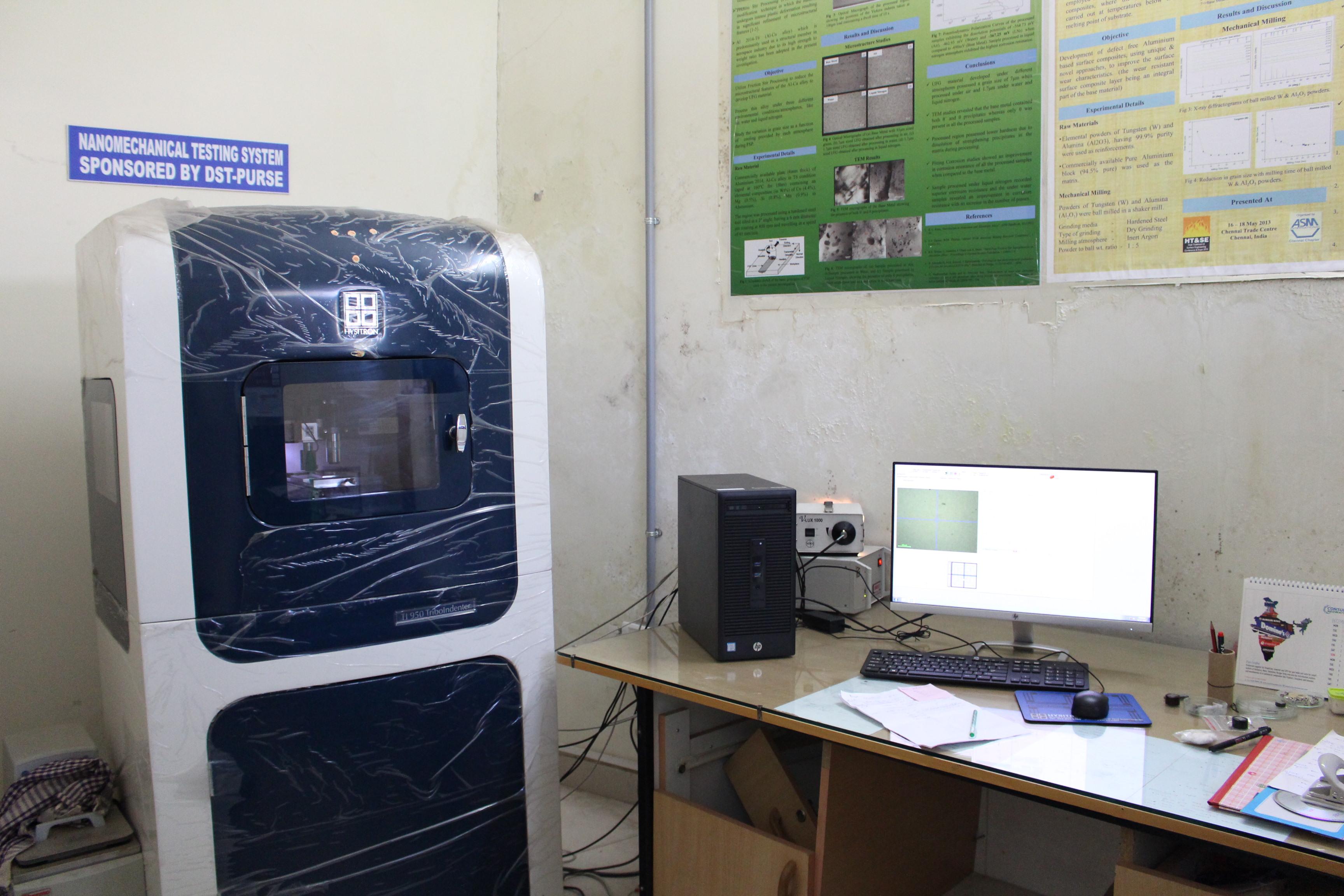 Nanoindentation Test System