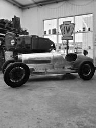 Bugatti Typ 37 - Restauration der Carrosserie, Teilneuanfertigung - Aluminium