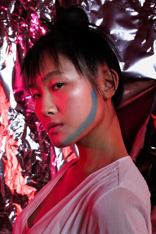 Personal Project with Regula Zürrer, Make up Artist