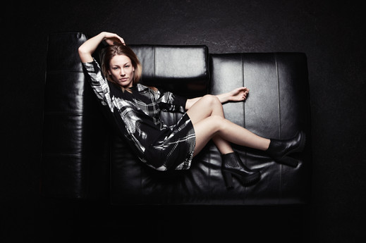the couch, fashion, model, beauty