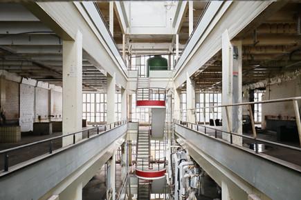 Treppe der Farbenfabrik