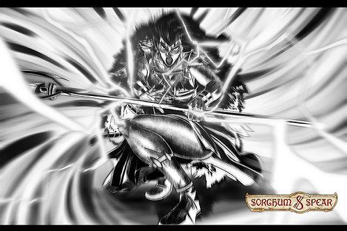 """Manga Namazzi"" 11 x 17 Art Print"