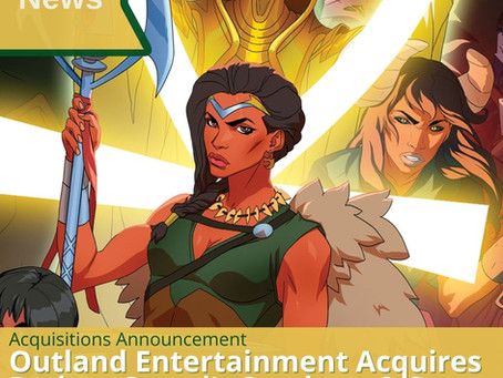 SORGHUM & SPEAR Aquired by OUTLAND ENTERTAINMENT