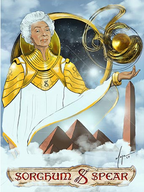 """Eshe The All-Mother"" 11 x 17 Art Print"