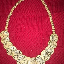 South African Wood Necklace