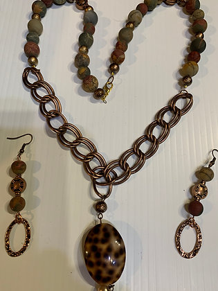 """Mixed Media #2"" Necklace Set"