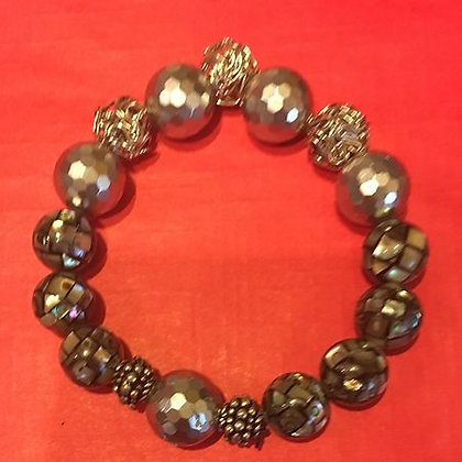 Silver Symphony Bracelet