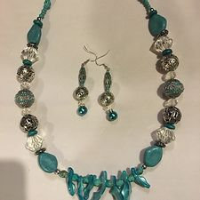 A Turquoise Dream Necklace Set