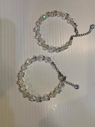 Crystal Cube Bracelets