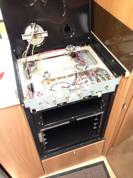 Cooker hotplate replacement