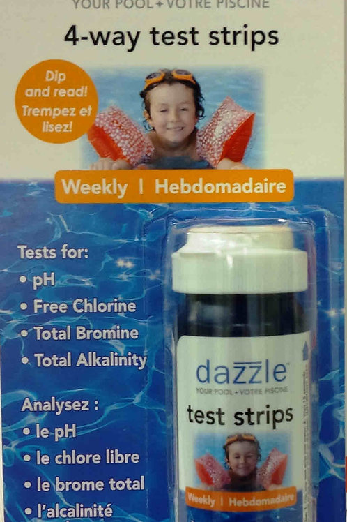 Dazzle 4 Way test strips