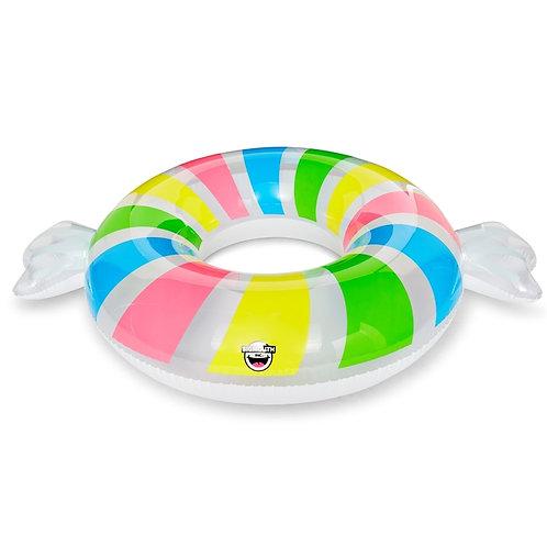 Flotteur de piscine à bonbons
