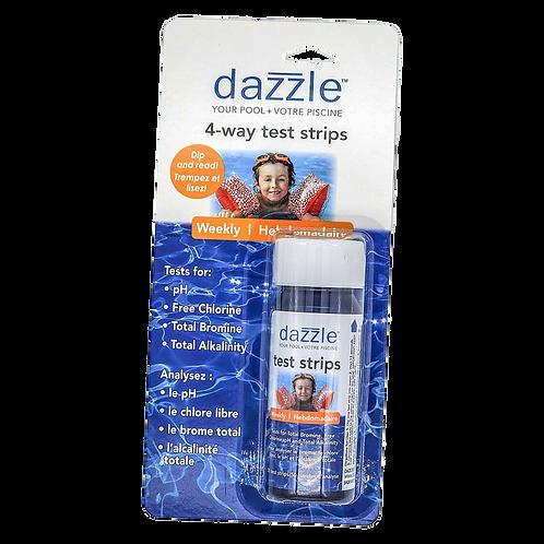 Dazzle 4 Way test strips